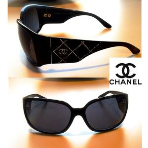 Chanel Sunglasses with Swarovski Crystals
